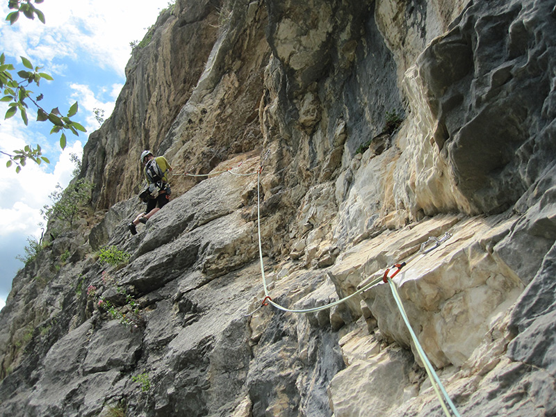 Klettertage im Sarcatal